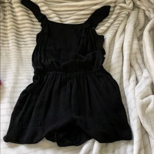 Old Navy Black Romper Small